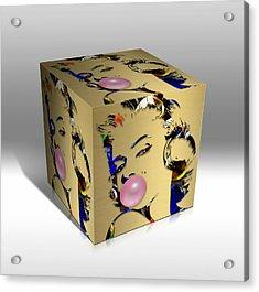 Marilyn Monroe Art Acrylic Print by Marvin Blaine