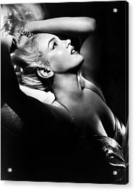 Marilyn Monroe, Ca. Early 1950s Acrylic Print