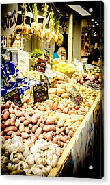 Acrylic Print featuring the photograph Market by Jason Smith
