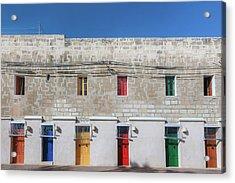 Marsaxlokk - Malta Acrylic Print by Joana Kruse