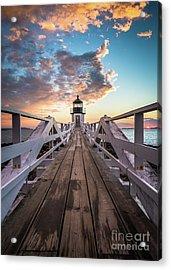 Marshall Point Sky Acrylic Print by Benjamin Williamson