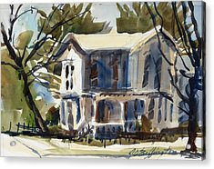Mary Eck's House  Acrylic Print