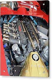 Maserati Engine Acrylic Print
