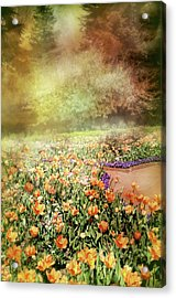Acrylic Print featuring the photograph Masquerade by Diana Angstadt