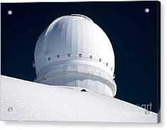 Mauna Kea Observatory Acrylic Print by Peter French - Printscapes