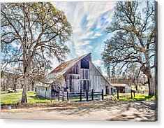 Mccourtney Barn Acrylic Print