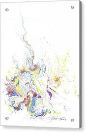 Meditation On The Burning Bush Acrylic Print by Mark Turner