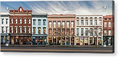 Acrylic Print featuring the photograph Meeting Street - Charleston, South Carolina by Carl Amoth