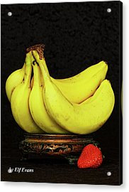 Acrylic Print featuring the photograph Mellow Yellows And Red by Elf Evans