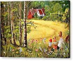 Memories For Mom Acrylic Print