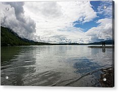 Mendenhall Lake Acrylic Print
