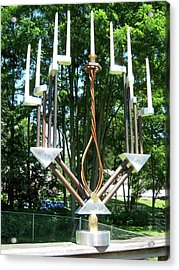 Menorah 2nd Acrylic Print