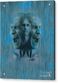 Mental Illness Acrylic Print by George Mattei