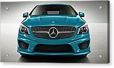 Mercedes Cla Class Coupe Collection Acrylic Print by Marvin Blaine
