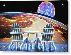 Acrylic Print featuring the digital art Mercury Rising by John Haldane