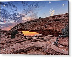 Mesa Arch At Sunrise Acrylic Print