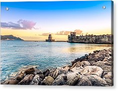 Methoni's Castle / Greece. Acrylic Print