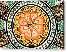 Mexican Tile Detail Acrylic Print