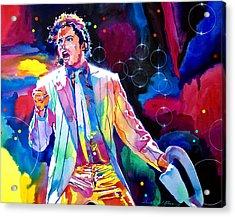 Michael Jackson Smooth Criminal Acrylic Print
