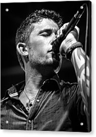 Michael Ray Acrylic Print by Christopher Holmes