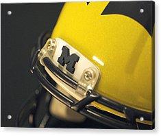 Michigan M Acrylic Print