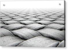 Micro Fabric Weave Acrylic Print