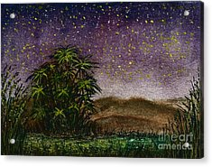 Midnight At The Oasis Acrylic Print