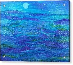 Midnight Swim Acrylic Print