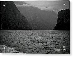 Milford Sound, New Zealand Acrylic Print by Elaine Teague
