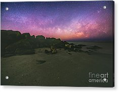 Milky Way Beach Acrylic Print