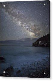 Milky Way In Maine Acrylic Print