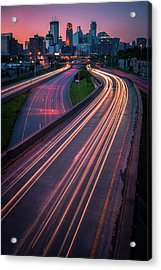 Minneapolis In Motion Acrylic Print