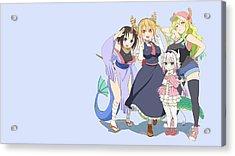 Miss Kobayashi's Dragon Maid Acrylic Print