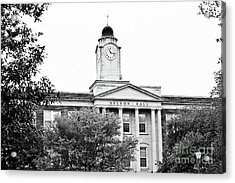 Mississippi College - Nelson Hall Acrylic Print by Scott Pellegrin