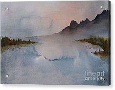 Mist Acrylic Print by Annemeet Hasidi- van der Leij