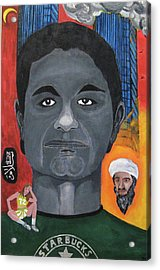 Mohamed Atta Acrylic Print by Darren Stein
