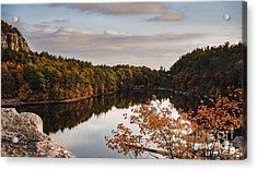 Mohonk Mountain House Lake Acrylic Print