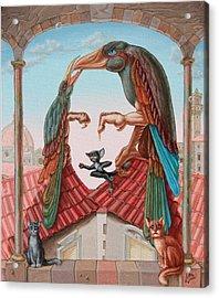 Mona Lisa. Air Acrylic Print