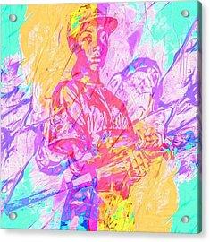 Mo'ne Davis. The Future Of ? Acrylic Print