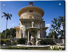 Monserrate Palace Acrylic Print by Andre Goncalves