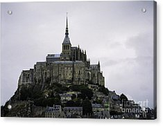 Mont St Michel Acrylic Print