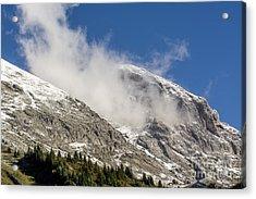 Montain Range Snow Covered.  Acrylic Print