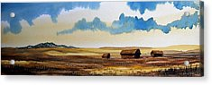 Montana Landscape Acrylic Print by Kevin Heaney