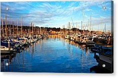 Monterey Marina, California Acrylic Print
