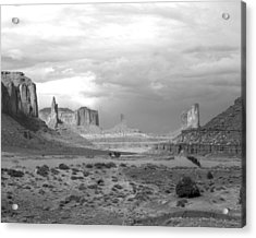 Monument Valley Afternoon Acrylic Print by Troy Montemayor