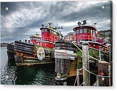 Moran Towing Tugboats Acrylic Print