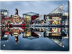 More Baltimore Acrylic Print