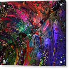 More Than A Feeling Acrylic Print by Kevin Caudill