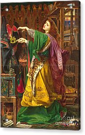 Morgan Le Fay Acrylic Print by MotionAge Designs