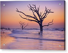 Morning At Botany Bay Plantation Acrylic Print